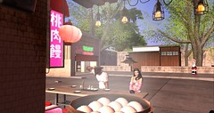 Tickety Boo Vibes (thenaturalborntourist) Tags: firestorm secondlife asianfood asian inspired cuisine food slvsrl datenight couplesgoals hangingout chillmode