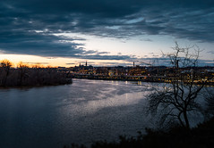Georgetown, Washington, DC (mangoldm) Tags: georgetown kennedycenter potomacriver clouds sky sunset