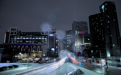 montreal (elementx79) Tags: nuitdhiver hiver city ville town snow winter long exposure night light