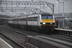 DVT 82136 (Service Dolphin) Tags: colchester essex train railway greateranglia electric locomotive class90 intercity