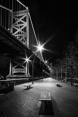 (Brian Collins Photography) Tags: 2015 benfrankilinbridge blackandwhite briancollins d750 ih8nyyanks january nikon pa pennsylvania philadelphia philly racestreetpier theben bc bw unitedstates
