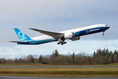 2020_01_25 Boeing 777X First Flight-4 (photoJDL) Tags: boeing 777 boeing777 kpae jeremydwyerlindgren 777x 7779x boeing777x boeing7779x 777xfirstflight airplane airport aviation airline pae painefield n779xw aircraft jdlmultimedia