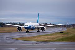 2020_01_25 Boeing 777X First Flight-10 (photoJDL) Tags: boeing 777 boeing777 kpae jeremydwyerlindgren 777x 7779x boeing777x boeing7779x 777xfirstflight airplane airport aviation airline pae painefield n779xw aircraft jdlmultimedia