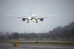 2020_01_25 Boeing 777X First Flight-28 (photoJDL) Tags: 777 7779x 777x 777xfirstflight bfi boeing boeing777 boeing7779x boeing777x boeingfield jdlmultimedia jeremydwyerlindgren kbfi n779xw aircraft airline airplane airport aviation