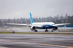 2020_01_25 Boeing 777X First Flight-33 (photoJDL) Tags: 777 7779x 777x 777xfirstflight bfi boeing boeing777 boeing7779x boeing777x boeingfield jdlmultimedia jeremydwyerlindgren kbfi n779xw aircraft airline airplane airport aviation