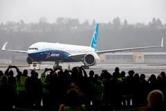 2020_01_25 Boeing 777X First Flight-38 (photoJDL) Tags: 777 7779x 777x 777xfirstflight bfi boeing boeing777 boeing7779x boeing777x boeingfield jdlmultimedia jeremydwyerlindgren kbfi n779xw aircraft airline airplane airport aviation