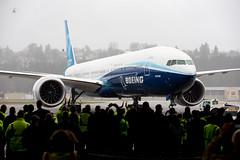 2020_01_25 Boeing 777X First Flight-40 (photoJDL) Tags: 777 7779x 777x 777xfirstflight bfi boeing boeing777 boeing7779x boeing777x boeingfield jdlmultimedia jeremydwyerlindgren kbfi n779xw aircraft airline airplane airport aviation