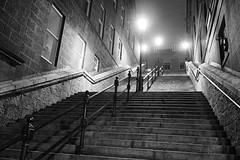 P1263267 (LezFoto) Tags: aberdeen scotland unitedkingdom olympus omd em10markiii em10mark3 olympusm1442mmf3556ez mzuikodigital olympuslens digitalcamera mirrorless olympusdigital microfourthirds micro43 monochrome bw blackandwhite steps