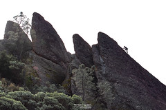 Climber in Silhouette (hot_toemales) Tags: pinnacles national park jan 2020