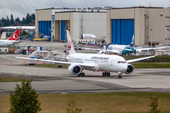 Japan Airlines Boeing 787 Dreamliner (PR Photography) Tags: airplane boeing everett location northamerica painefield planes planespotting usa washington