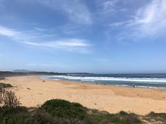 Remote NSW Beach (kram cam) Tags: australia roadtrip newsouthwales victoria beach photo digital iphone