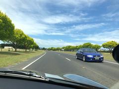 Heading to McLoughlin's Beach. Pretty stretch of road (kram cam) Tags: australia roadtrip newsouthwales victoria beach photo digital iphone
