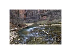 Today's Hike (Karen McQuilkin) Tags: zion trail hike river longexposure nationalpark utah