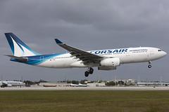 F-HBIL -  Airbus A330-243 - Corsair Int'l - KMIA - Jan 2020 (peachair) Tags: fhbil airbus a330 corsair international mia kmia 320
