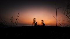 Time is an illusion (Navaneeth Kishor) Tags: time sunset illusion slowshutter silhouette warm dawn pulleppara poonjar kerala keralam india godsowncountry