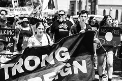 Raina + Hunter (Leighton Wallis) Tags: sony alpha a7r mirrorless ilce7r 55mm f18 emount newcastle nsw newsouthwales australia invasionday firstnations aboriginal aborigine protest changethedate