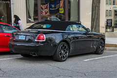 Rolls-Royce Dawn Black Badge (Rivitography) Tags: king888 nevada car exotic fast expensive luxury automobile 2019 canon 60d adobe lightroom rivitography greenwich connecticut rollsroyce dawn blackbadge black british convertible cabriolet