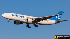 Airbus A330 Air Europa EC-KTG (ConnectingPax) Tags: airplane airplanes aircraft airport aviation aviones aviación airbus a330 landing aireuropa madrid mad madridbarajas lemd spotting barajas spotters spotter planes canon closeup sunset