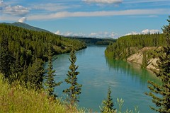 Yukon River (MIKOFOX ⌘ 2020 Vision) Tags: mikofox canada xt2 learnfromexif valley river summer landscape water island august provia fujifilmxt2 showyourexif mountain xf18135mmf3556rlmoiswr