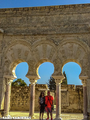 carmen y kamo, medina alzahara (K@moeiras) Tags: córdoba provinciadecórdoba españa andalucia medinaalzahara kamo