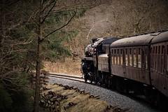 moorsrailway2018 (tonywinward2) Tags: steam loco locomotive locomotion nymr north yorkshire moors railway rail rasils uk united kingdom great britain train trains heritage repton class old carriages east england 2018