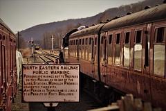 DSC09671 (tonywinward2) Tags: steam loco locomotive locomotion nymr north yorkshire moors railway rail rasils uk united kingdom great britain train trains heritage repton class old carriages east england 2018