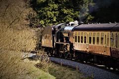 DSC09590 (tonywinward2) Tags: steam loco locomotive locomotion nymr north yorkshire moors railway rail rasils uk united kingdom great britain train trains heritage repton class old carriages east england 2018