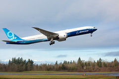 2020_01_25 Boeing 777X First Flight-5 (photoJDL) Tags: 777 7779x 777x 777xfirstflight boeing boeing777 boeing7779x boeing777x jdlmultimedia jeremydwyerlindgren kpae n779xw painefield aircraft airline airplane airport aviation pae