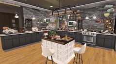 Modern Kitchen (RAVEN'S ELEGANCE) Tags: kitchen modern secondlife sl