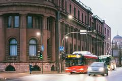Evening lights   Kaunas #24/365 (A. Aleksandravičius) Tags: bus bars bank lietuvos bankas building evening lights architecture 2020 city kaunas lietuva europe lithuania nikon z 7 nikonz7 z7 mirrorless nikkor 85mm 85 365 3652020 85mmf18g nikkor85mm nikon85mm18g f18g nikon85mm project365 24365