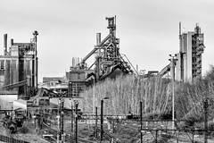 They sold their soul to the devil........ (h.dirix) Tags: hoogovensseraing seraing liege belgium steel blast furnace industry workers unemployment capital devil extinguished