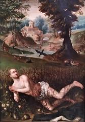 San Benito sobre las zarzas (siglo XVII). Jean Brueghel I. Museu de Montserrat. St. Benedict among the brambles (Antonio Ventaja) Tags: museudemontserrat pintura painting