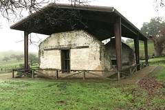 Preserved adobe, built about 150 years ago. (openspacer) Tags: adobe historic mercedcounty pachecostatepark structure