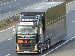 Knights Transport Solutions, Volvo FH (Transformers) DX64KPF On The A1M Southbound (Gary Chatterton 8 million Views) Tags: knightstransportsolutions volvotrucks volvofh transformers dx64kpf trucking wagon lorry haulage distribution logistics transport motorway flickr canonpowershotsx430 photography