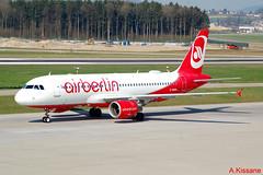 AIR BERLIN A320 D-ABDW (Adrian.Kissane) Tags: 3945 2832017 a320 dabdw zurich airberlin