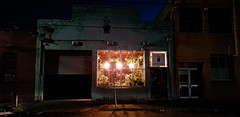 Beacon (Tidalist) Tags: building evening lights shop melbourne australia industrial