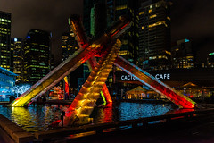 Celebrating the Lunar Festival at the Olympic Cauldron ([Ross]) Tags: asian britishcolumbia canada canadaplace chinese coalharbour coastsaish conventioncentre firstnations jackpooleplaza lunar newyear olympic vancouer cauldroon downtown festival lanterns sailsoflight vancouver