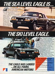 1980 American Motors Eagle 2 Door 4WD USA Original Magazine Advertisement (Darren Marlow) Tags: 1 4 8 9 19 80 1980 a american m motors amc e eagle 4wd w d c car cool collectible collectors classic automobile v vehicle u s us usa united states america 80s