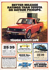 1980 Chevrolet LUV Pickup Truck Isuzu USA Original Magazine Advertisement (Darren Marlow) Tags: 1 8 9 19 80 1980 c chev chevy chevrolet i isuzu l u v luv p pick up t truck car cool collectible collectors classic a automobile vehicle j jap japan g m gm general motors japanese asian asia 80s