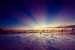Boracay Sunset (ericmontalban) Tags: boracay boracaysunset philippines landscape beachscape aklan