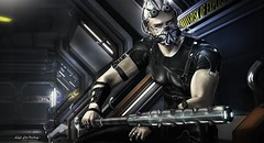Mainframe - 2 (Kai Wirsing) Tags: ay cyberpunk mainframe riot theepiphanyevent mens cyber {psychobyts} theforge krova lemporiopl scifi
