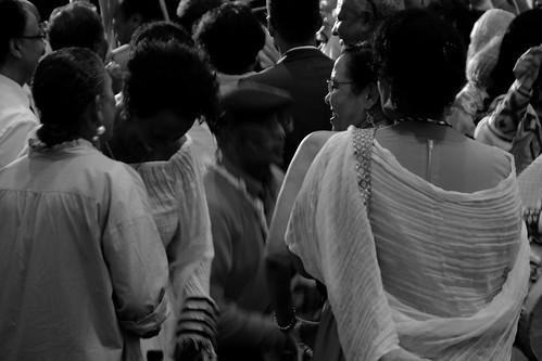 At an Eritrean wedding party.