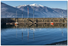 """Porticciolo Di Luino (""""Deca"""") Tags: varese lagomaggiore verbano lago lake italia italy inverno winter gennaio january lombardia lombardy acqua water nikon nikkor"""