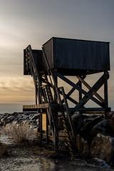 Lookout Tower (zifide) Tags: tower rocks sea landscape nikon d610 nikkor af 50mm 18d