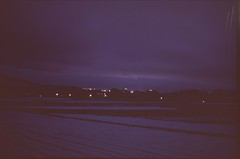 (✞bens▲n) Tags: minolta cle velvia iso50 summilux 50mm f14 film expired landscape dark nightscape nagano japan fields