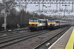 Colchester (Service Dolphin) Tags: colchester essex train railway greateranglia electric locomotive class90 intercity