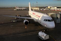 TS-IMI Tunisair Airbus A320-211 (buchroeder.paul) Tags: tsimi tunisair airbus a320211 dtta tun tunis carthage international airport tunisia kartago tunesien flughafen ground boden dawn morgen airside