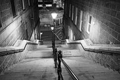 P1263273 (LezFoto) Tags: aberdeen scotland unitedkingdom olympus omd em10markiii em10mark3 olympusm1442mmf3556ez mzuikodigital olympuslens digitalcamera mirrorless olympusdigital microfourthirds micro43 monochrome bw blackandwhite steps