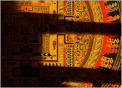 Tibetan Sand Mandala (Armin Fuchs) Tags: arminfuchs lavillelaplusdangereuse mandala sand tibet yellow red shadows buddhism