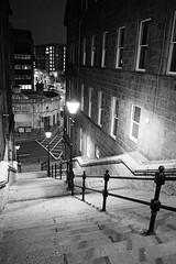 P1263271 (LezFoto) Tags: aberdeen scotland unitedkingdom olympus omd em10markiii em10mark3 olympusm1442mmf3556ez mzuikodigital olympuslens digitalcamera mirrorless olympusdigital microfourthirds micro43 monochrome bw blackandwhite steps